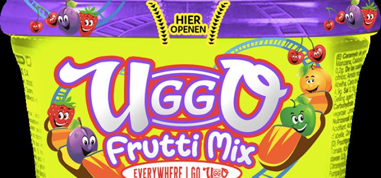 Uggo, candy, frutti, mix, snoep, snoepjes, hersluitbaar, pot